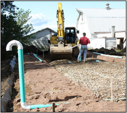 septic installation image